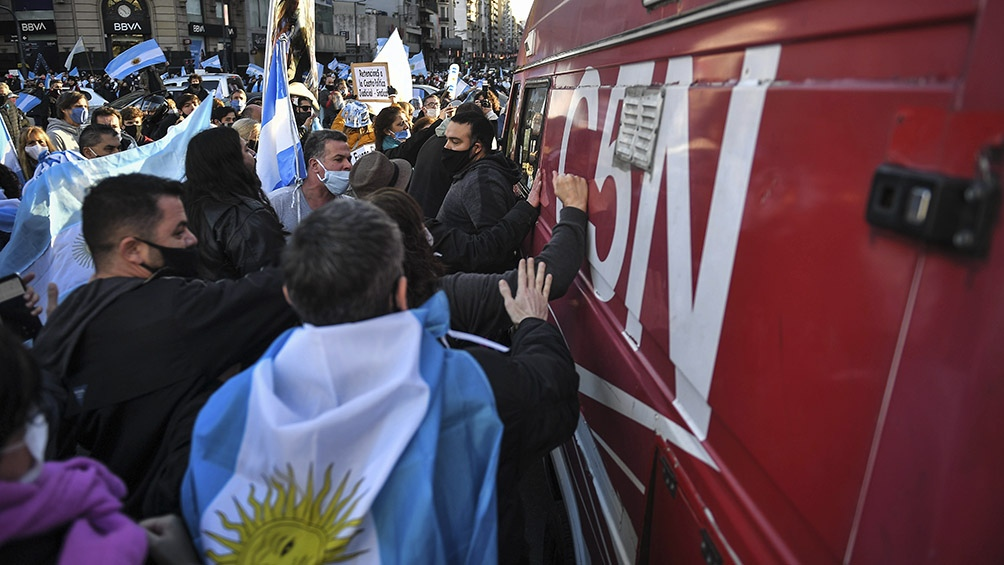 """""""La violencia y la intolerancia son inaceptables para la vida en democracia"""", afirmó la CC ARI"""