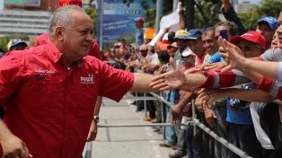 Diosdado Cabello y un gobernador tienen coronavirus
