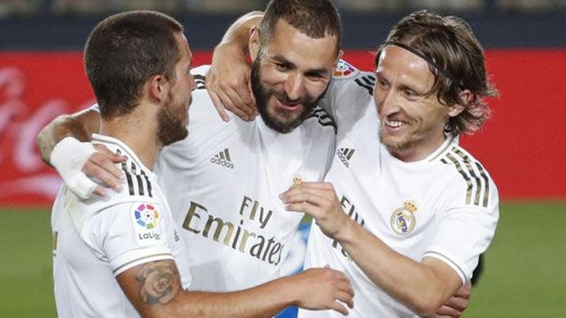 El campeón vigente Real Madrid empató con Real Sociedad - Télam - Agencia Nacional de Noticias