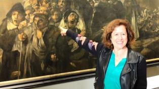 La escritora Berna González Harbour ganó el Premio Dashiell Hammett de novela negra