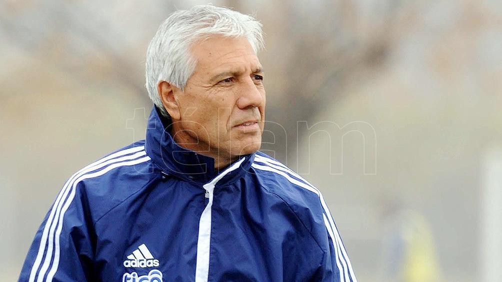 Paolorosso, el preparador físico de Martino en los seleccionados de Paraguay y Argentina (archivo Télam)