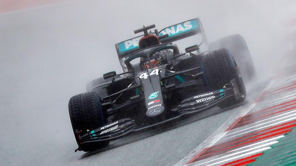 La pole para Hamilton.