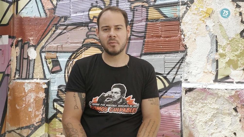 Pablo Hasel, el rapero que fue encarcelado en España.