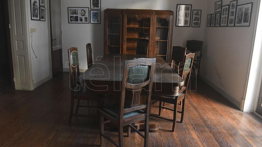 El departamento fue construido hace más de 90 años y aún mantiene en perfectas condiciones su estilo francés.