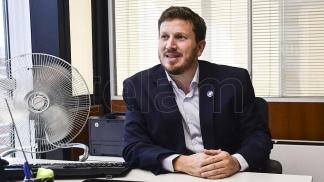 Federico Angelini, vicepresidente del PRO.