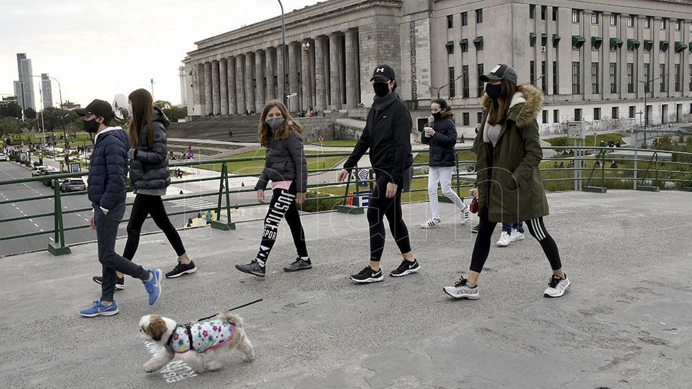 Fueron realizados en la ciudad de Buenos Aires un total de 493.082 hisopados