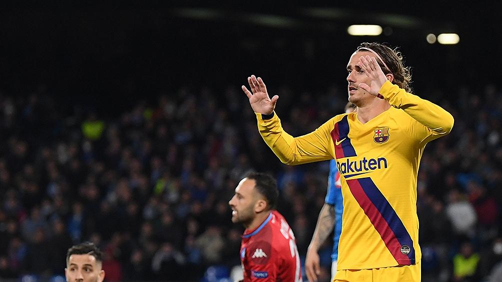 """El francés """"hoy es baja y la evolución marcará su disponibilidad"""", aclaró el club."""