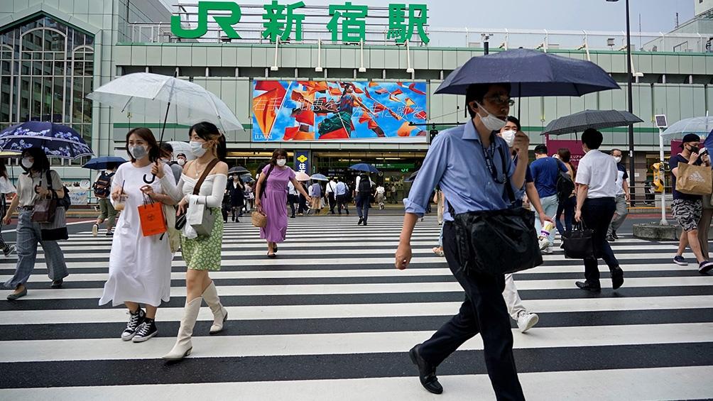 Japón con nuevo récord de casos en Tokio y todo el país