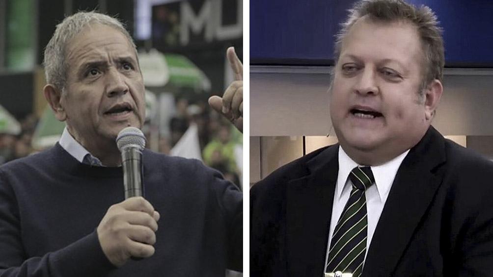 Sergio Palazzo y Pablo Biró de la Corriente Federal de Trabajadores