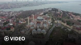 El Papa criticó la reconversión de la basílica de Santa Sofía de Estambul en mezquita