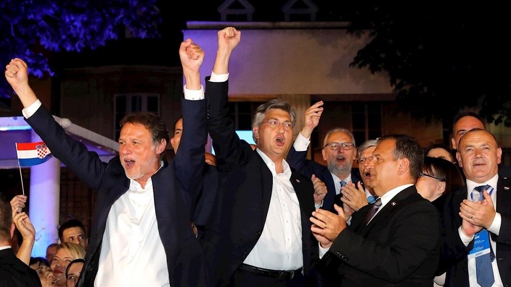 Los conservadores croatas de HDZ retuvieron el poder