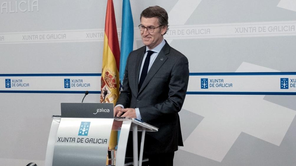 Alberto Núñez Feijóo, reelegido presidente de la Xunta de Galicia
