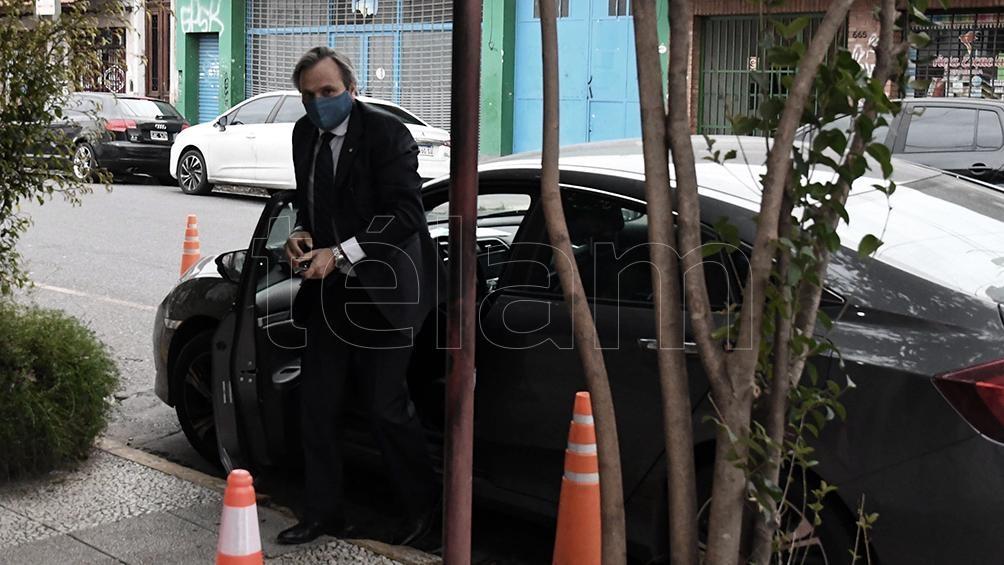 Juan Pablo Auge, juez de la causa que investiga el espionaje ilegal en los tribunales federales de Lomas de Zamora.