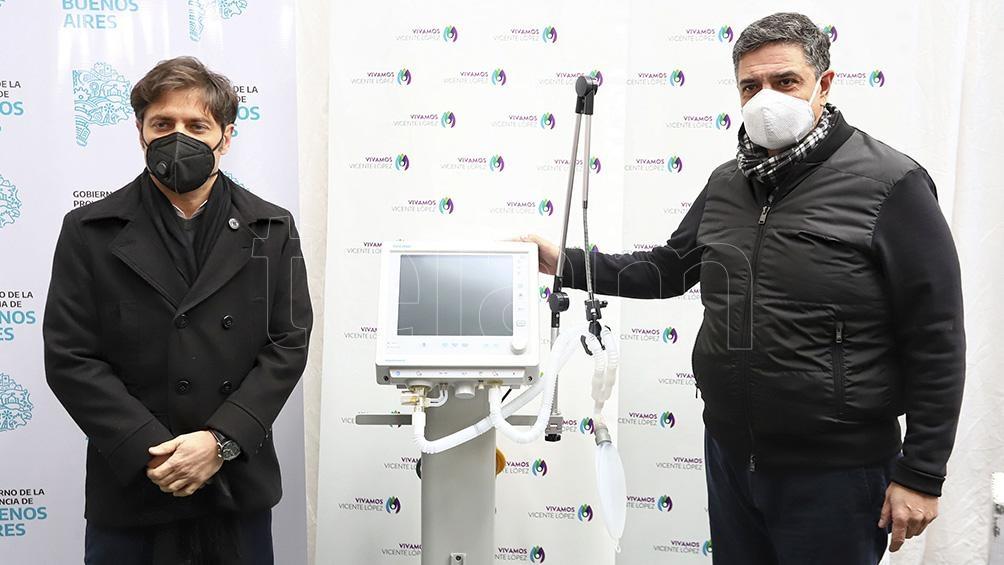 Desde el inicio de la pandemia la provincia de Buenos Aires entregó más de mil respiradores.
