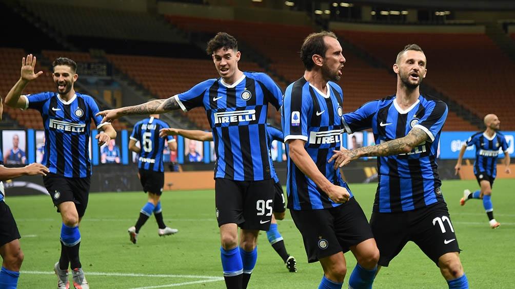 El Inter está con el ánimo alto tras haber vencido a Torino