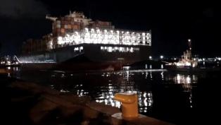 Confirman el arribo de otro buque chino con insumos para enfrentar la pandemia