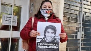 """""""El sistema judicial no quiere hacer nada"""", dijo la mamá de Facundo Astudillo Castro"""