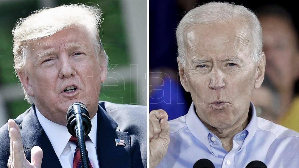 Donald Trump y Joe Biden son los principales contendientes en las presidenciales del 3 de noviembre