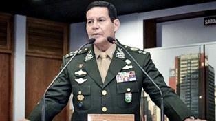 Para el vicepresidente Mourao, no hay clima político para destituir a Bolsonaro