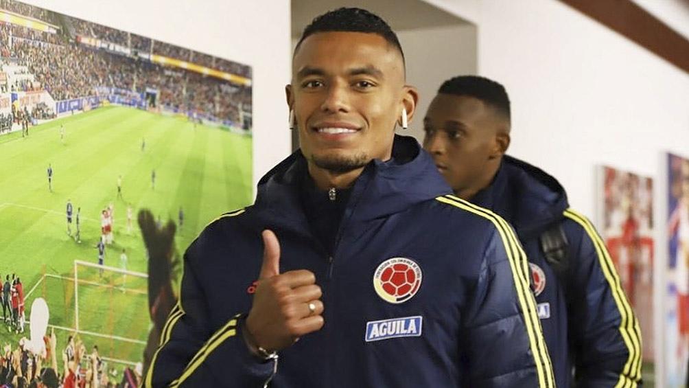 Tesillo juega en el León de México y ya fue citado a la selección de Colombia (foto IG tesillowilliam)