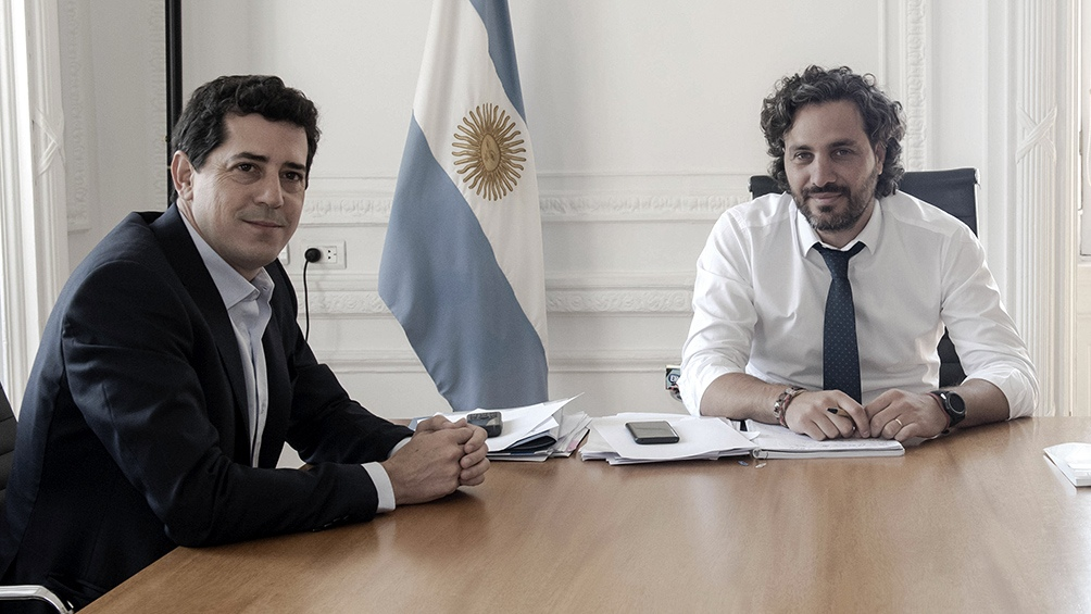Santiago Cafiero Wado De Pedro