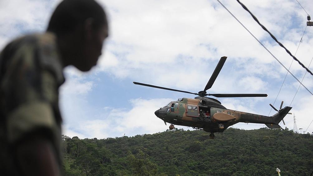 El titular de la cartera de Defensa se encuentra en campaña para elevar de 1.8% a 2% del PBI el gasto militar.