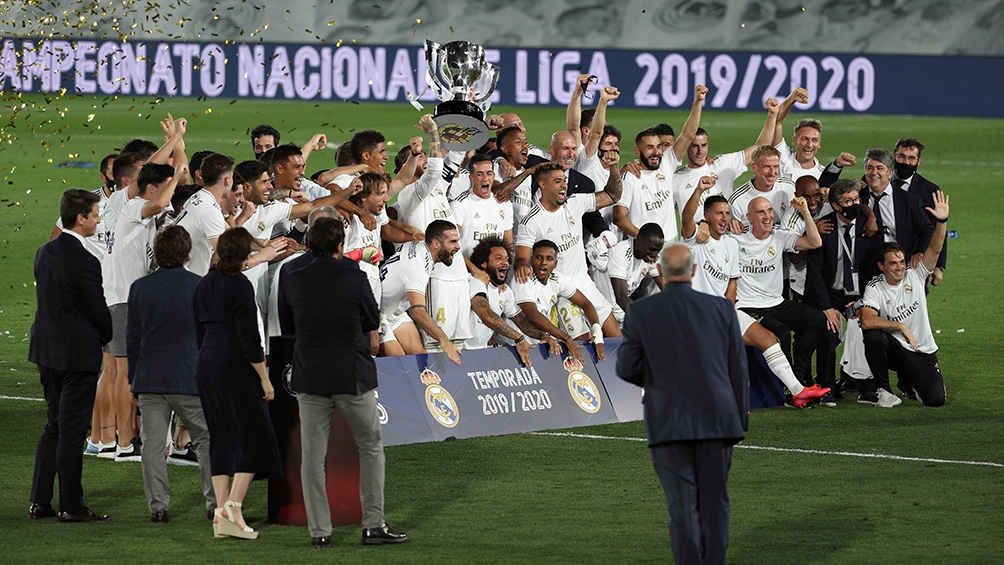El Real Madrid se consagró campeón el jueves pasado tras vencer 2 a 1 al Villareal.