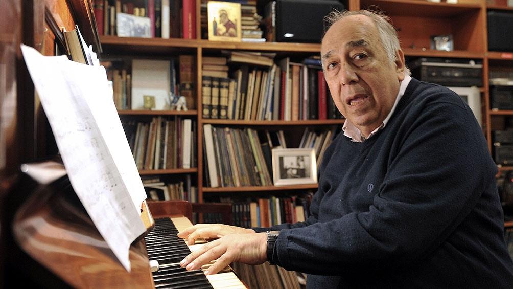 El pianista y compositor había nacido en Córdoba en 1937.