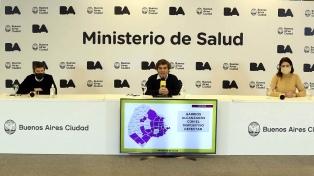 Son 859 los fallecimientos por coronavirus en la ciudad de Buenos Aires