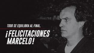 Newell's felicitó a Bielsa por su ascenso a la Premier League