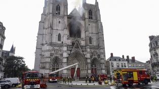 Un voluntario de la diócesis de Nantes confesó su responsabilidad en el incendio