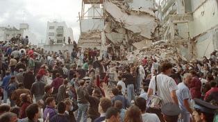 """Memoria Activa pidió """"justicia"""" en un acto por el atentado a la AMIA y apuntó al gobierno de Macri"""