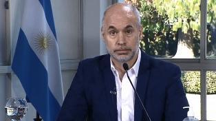 Larreta presentó el Presupuesto 2021, con nuevos impuestos a las Leliqs y a las tarjetas de crédito