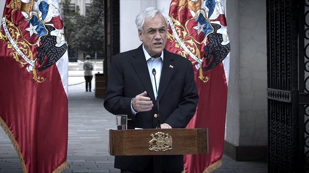 """""""Lo que Chile está haciendo es ejercer su derecho y declarar su plataforma continental"""", dijo el presidente chileno"""