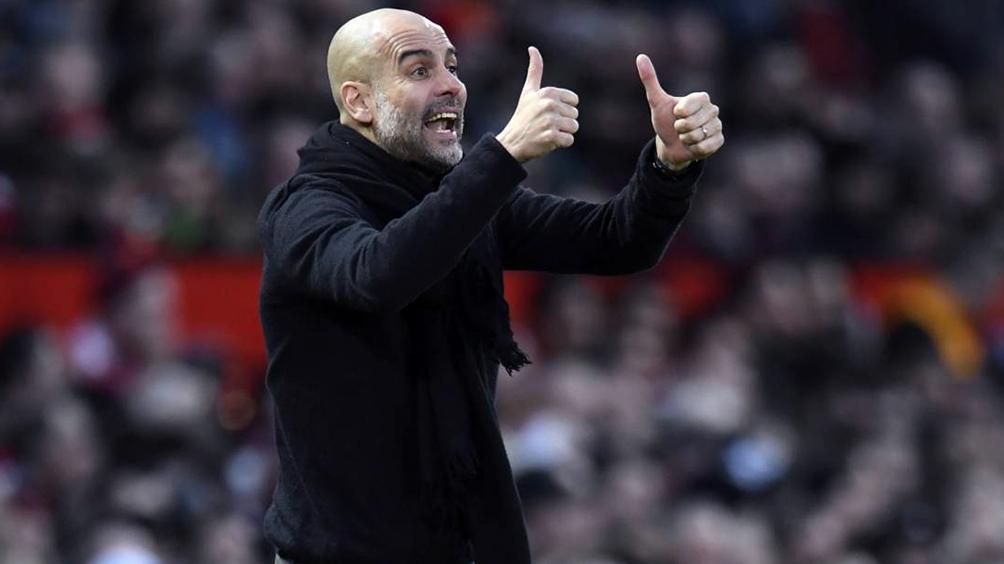 Guardiola regresó a Manchester tras su paso por Barcelona