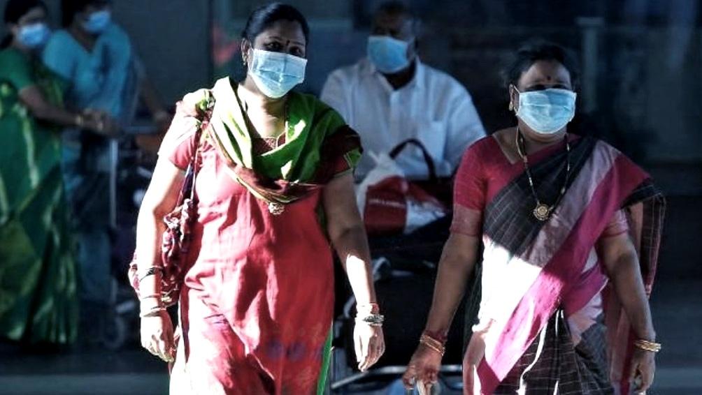 India es el tercer país con más casos confirmados de Covid-19