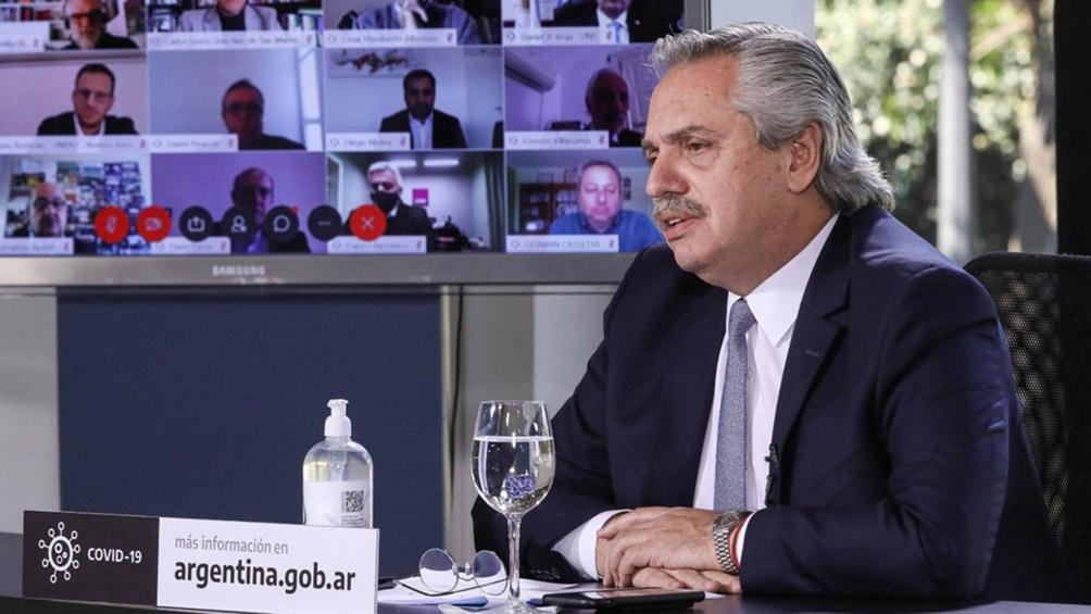 """""""La Argentina es un país con mucha riqueza no explotada adecuadamente"""", dijo el mandatario"""