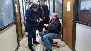 El fiscal pide el cese del arresto domiciliario del jubilado Jorge Ríos