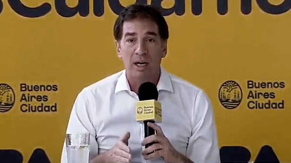 Santilli dijo que avarán lo que surja de la reunión entre Santiago Cafiero, Ginés González García, Matías Lammens y Claudio Tapia.