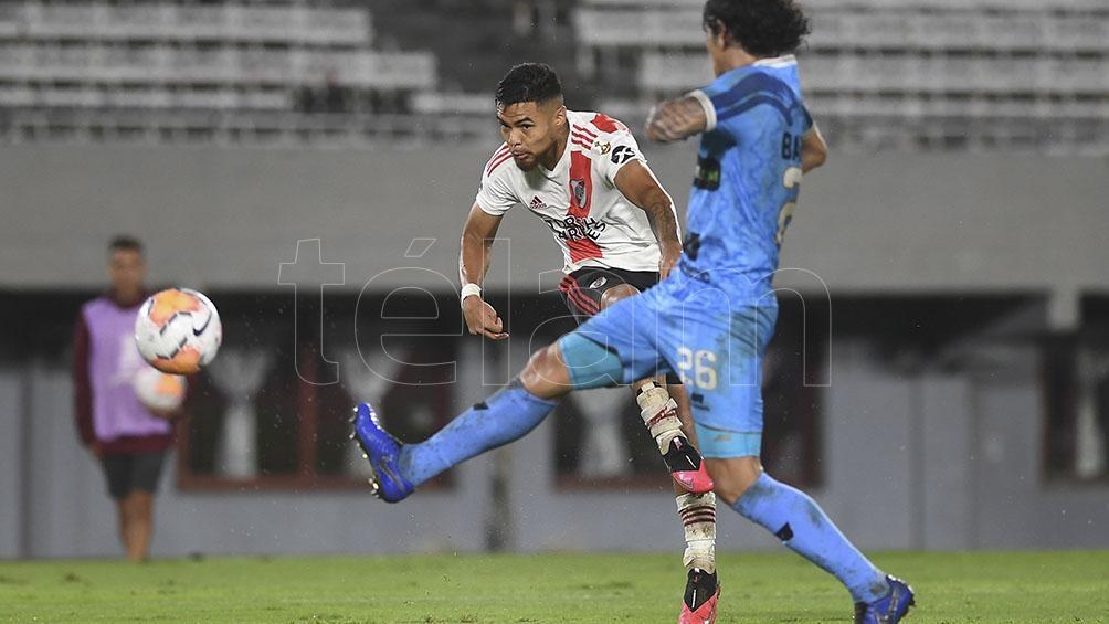 River le anotó ocho goles en el Monumental ante los peruanos del Binacional