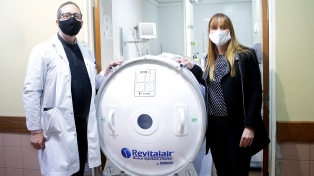 Prueban las cámaras hiperbáricas para pacientes con coronavirus