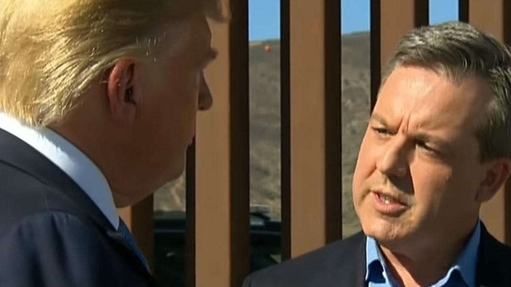 Ed Henry entrevista a Donald Trump por Fox News