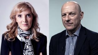 Bernarda Llorente y Sergio Berensztein, en un webinar sobre elecciones en Estados Unidos