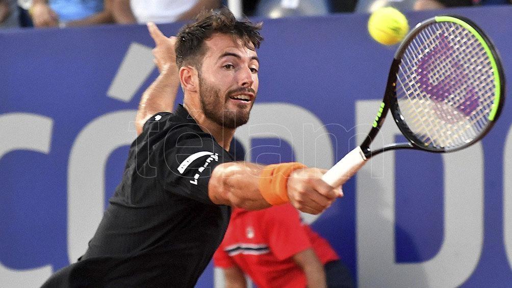 Juan Londero está 62 del ranking mundial de la ATP.