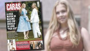Especialistas de la salud, contra la tapa de Caras con la princesa Amalia de Holanda