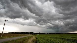 Alertas por tormentas, lluvias y granizo para 6 provincias