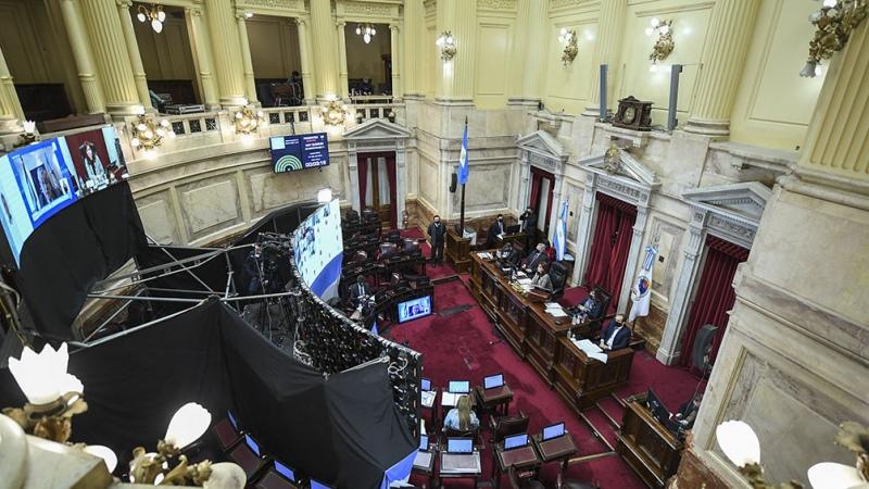 Ingresó al Senado el proyecto de ley de reforma judicial  - Télam - Agencia Nacional de Noticias