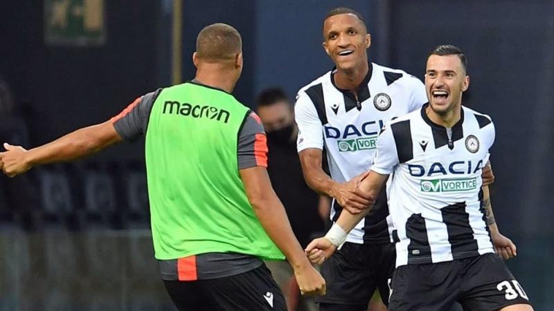 Juventus sufrió un gol agónico ante Udinese, que lo dejó sin racha