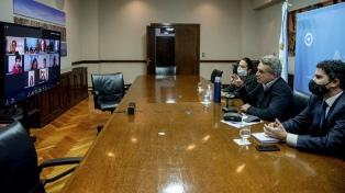 Defensa y legisladores porteños del Frente de Todos coordinan tareas de asistencia