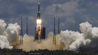 China lanzó una sonda a Marte con el apoyo de la estación de exploración de Neuquén